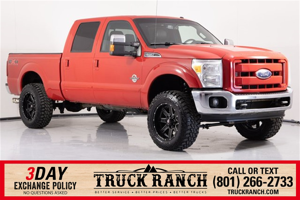 Pre-Owned 2011 Ford F-350SD Lariat