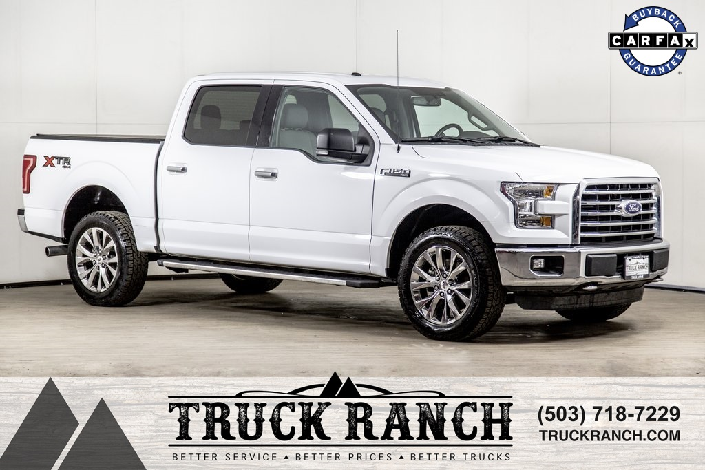 Ford Trucks 2016 >> Pre Owned 2016 Ford F 150 Xlt 4wd