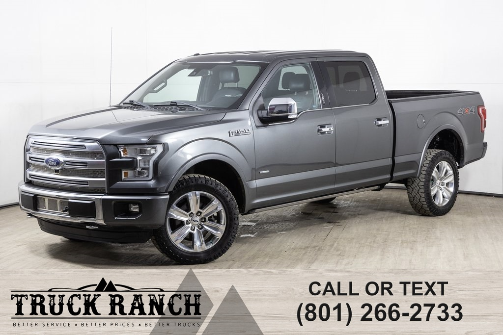 Pre-Owned 2015 Ford F-150 Platinum