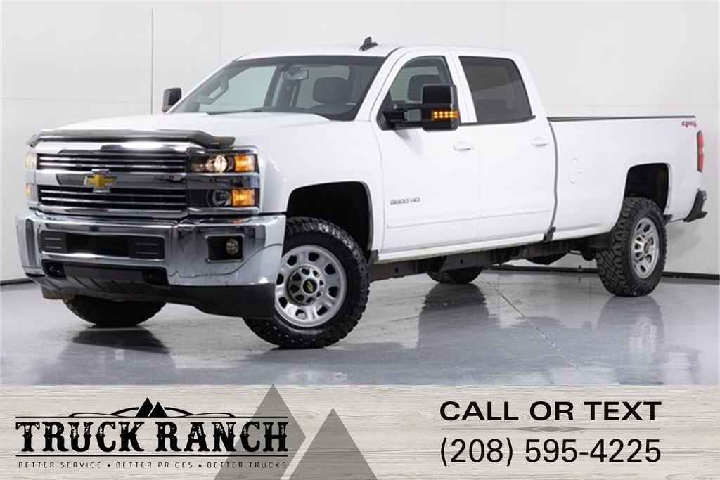 Pre-Owned 2018 Chevrolet Silverado 3500HD LT